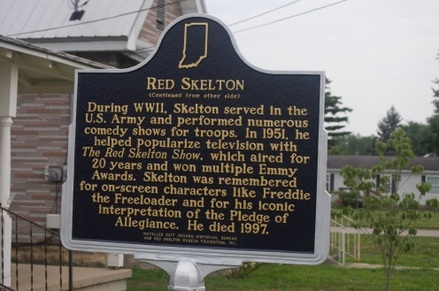 Red's Birthplace Marker