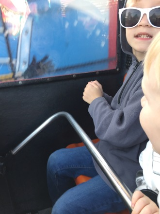 On the Firetruck Ride