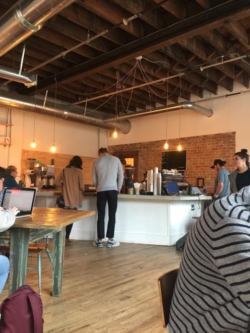 Interior of Coffee Plus