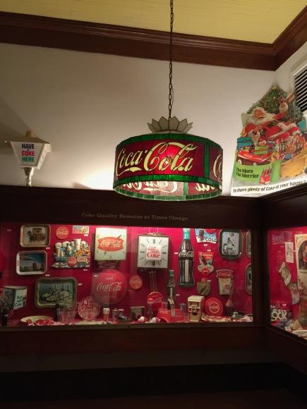 Coca Cola Lamp and Displays