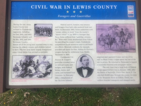Civil War History of Hohenwald