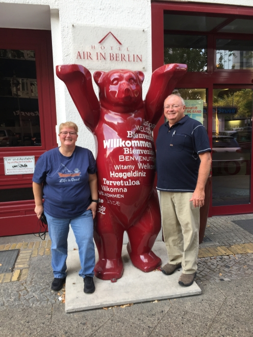 Joan and Me at Air in Berlin Hotel