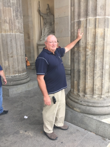 The Columns of Brandenberger Tor