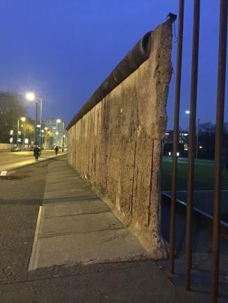 Preserved Berlin Wall Segment on Bernauer Strasse.