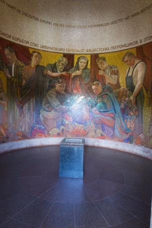 Mosaic Inside the Statue Base